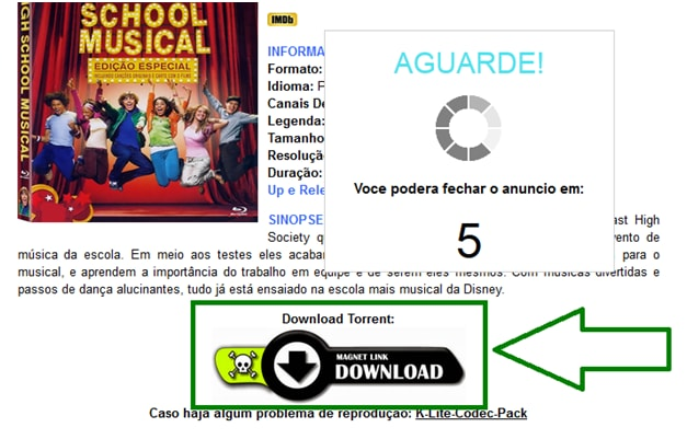 download high school musical torrent files