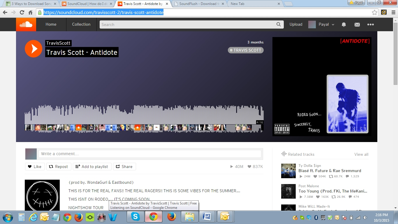 Free Soundcloud downloader and paid downloader to get Soundcloud music