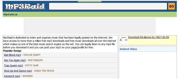 Free MP3 Music Download Online without Registration Legally