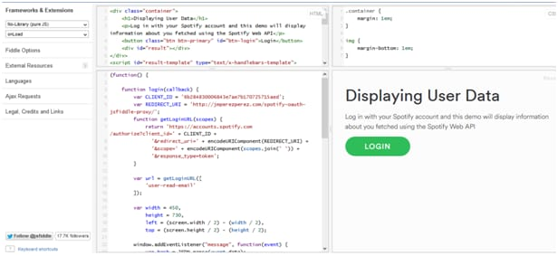 Knowledge of spotify API for Spotify Developer