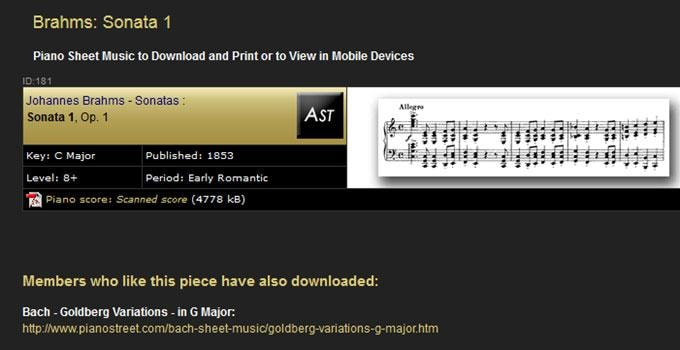The TOP 5 Piano Sheet Sites