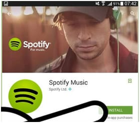 How to sign up or sign in Spotify account
