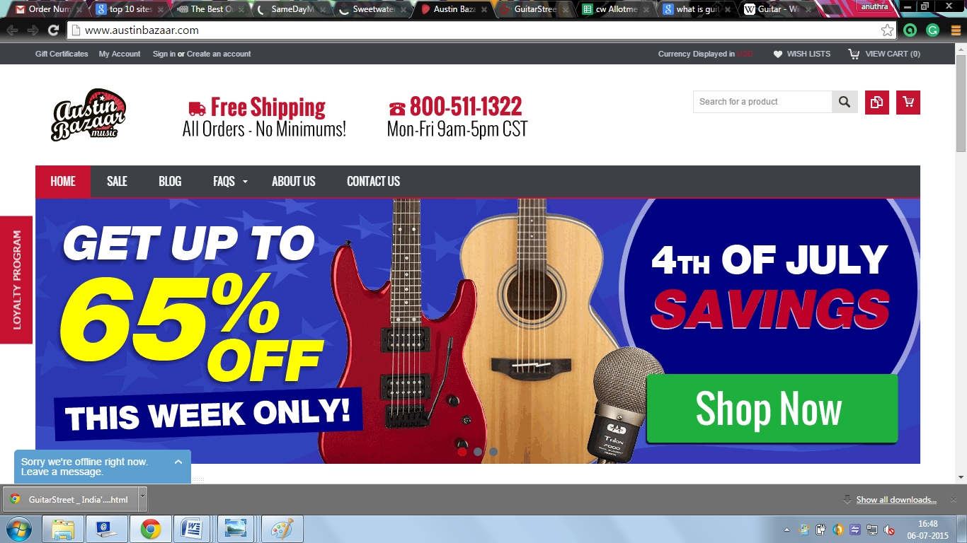 Some of the Best Sites to Purchase Guitar Online