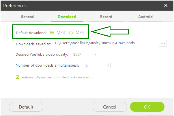 YouTube song downloader free your music library