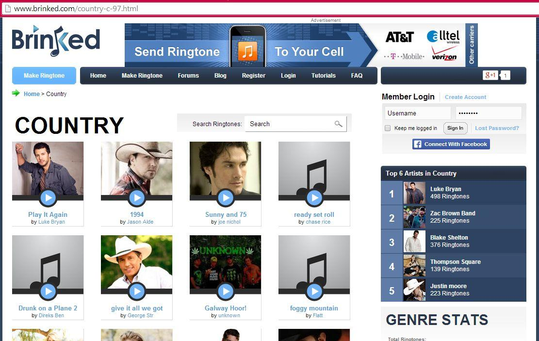 The Best 5 Sites to Sownload Country Music