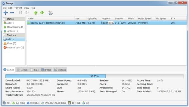 Top 5 torrent software
