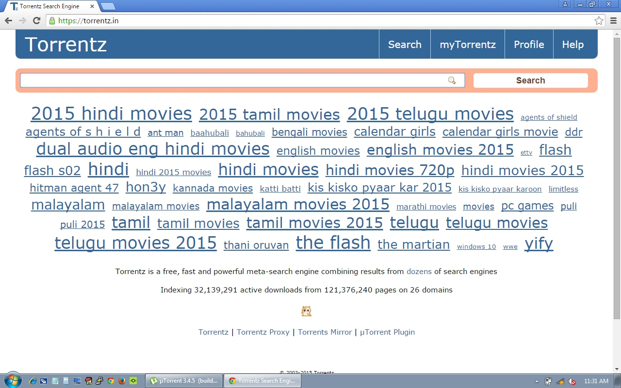 Torrent movies download