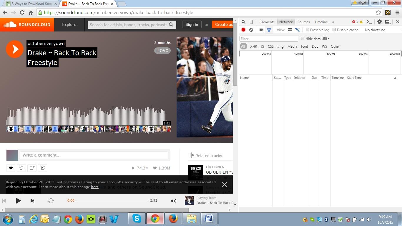 Download Soundcloud tracks from Soundcloud