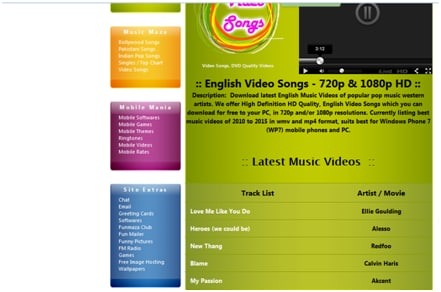Video Songs Download for Mobile Phone
