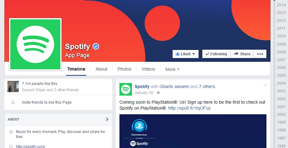 Ways to keep in touch with Spotify streaming