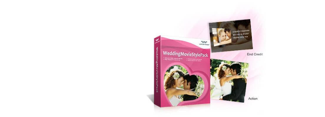 Wedding Movie Style Pack Banner