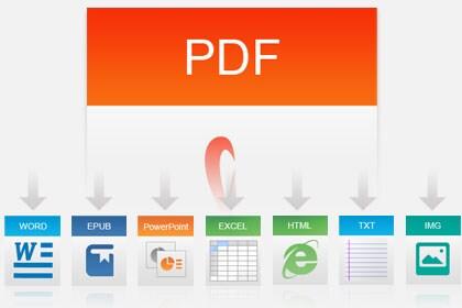 Convert PDF to 6 Formats