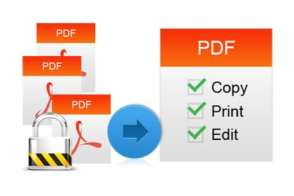 Convert Password Protected PDF Files