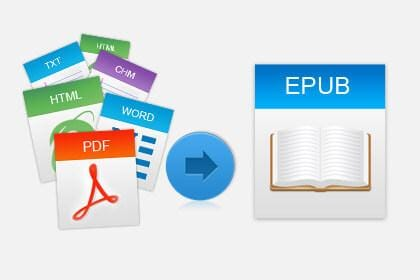 Build EPUB EBooks from 10+ Popular Document Format