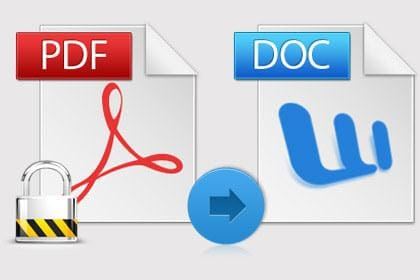 Convert Encrypted PDF Files