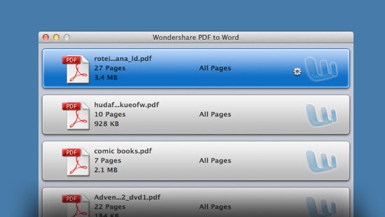 Wondershare PDF to Word for Mac feature image