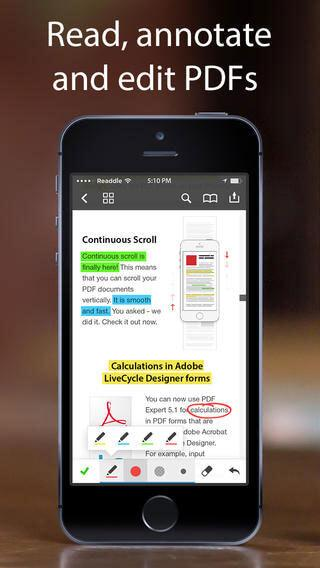 best pdf reader for iphone