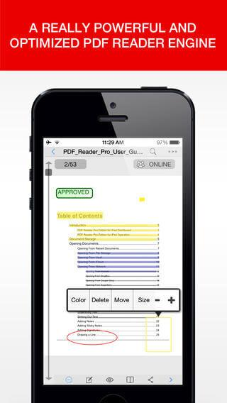 pdf reader iphone