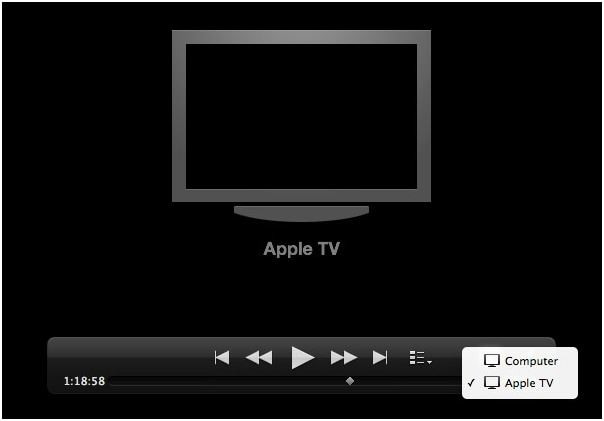 How to play QuickTime Video on Apple TV