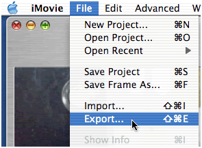 Solved: why can't my QuickTime video import to iMovie