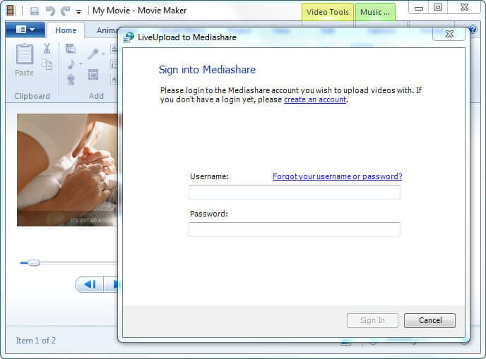 windows movie maker codec