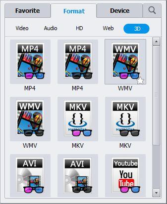 convert video to 3D MKV
