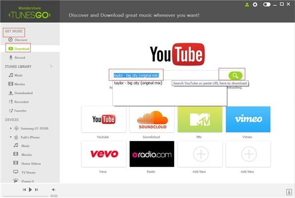 Download music From YouTube/ websites to iTunes