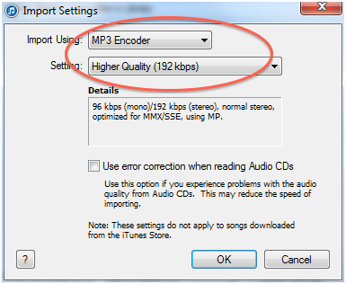 Does itunes download in mp3 format