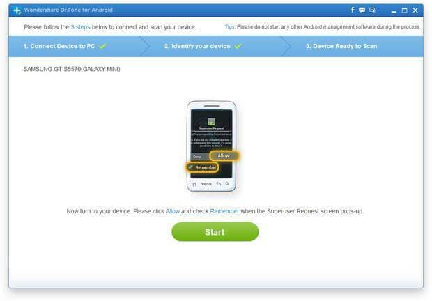 android contact data recovery