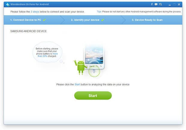 sim card text recovery android