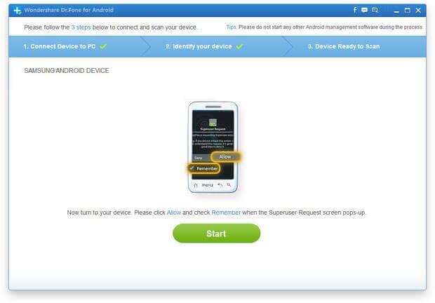 recover sms from galaxy s3 mini
