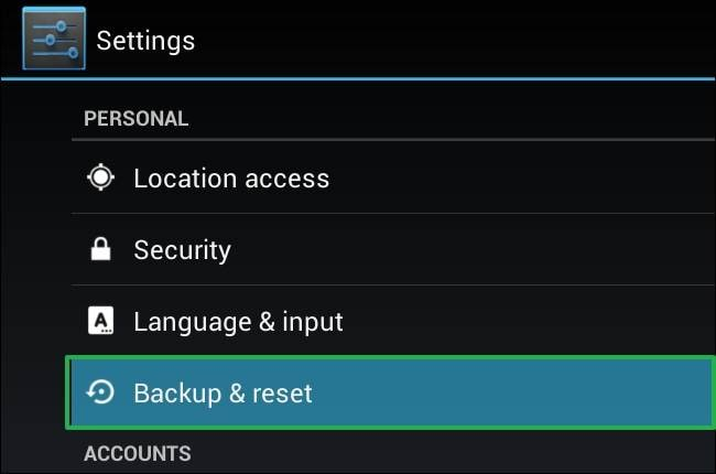 Securely wipe your Android tablet before selling it