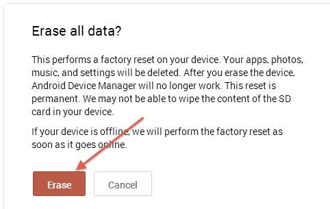 Guide to fully erase Android phone SD card