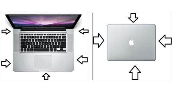 Clean the Appearance of MacBook