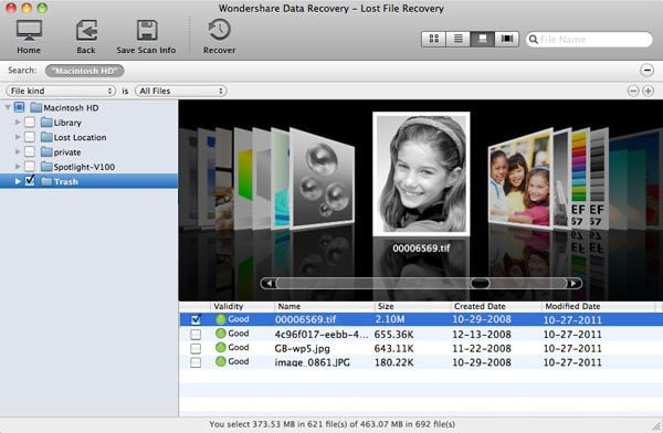 recover data in mavericks