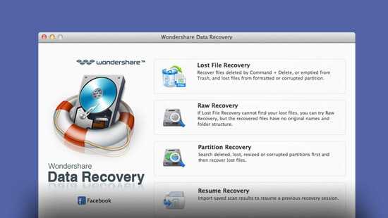 Wondershare Data Recovery for Mac feature image