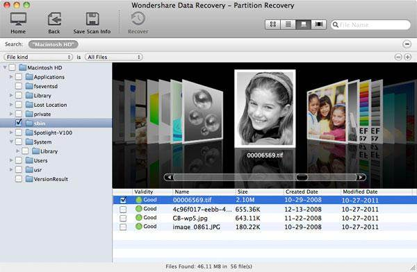 Preview Files-Partition Recovery