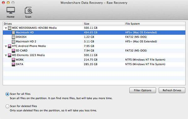 recover mac files after formatting