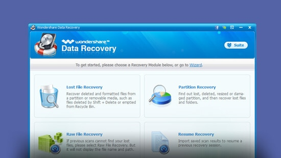 Wondershare Data Recovery 4.1.1 [32Bit & 64Bit] [Serial]