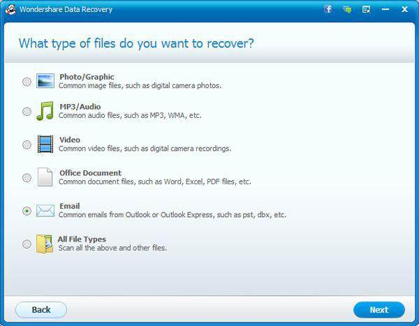how to recover deleted email