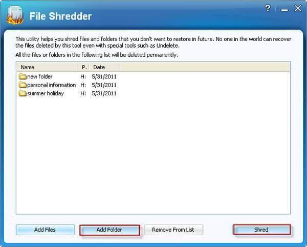 Erase Folder