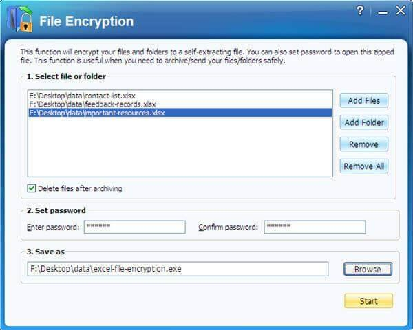 excel encryption