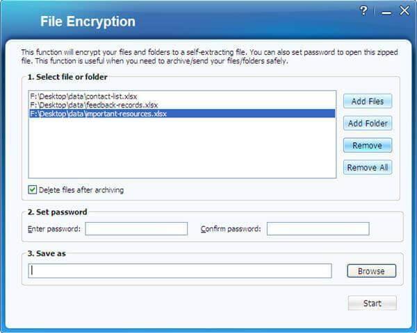 encrypt excel