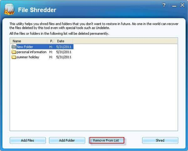 fast folder shredder