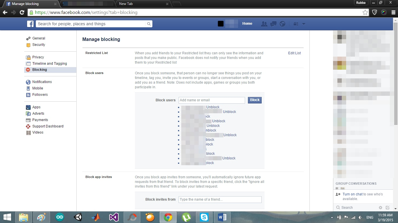 how to undo the delete message in fb