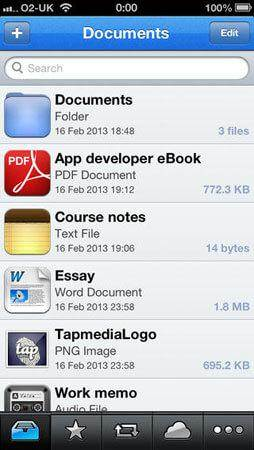 file explorer for iphone