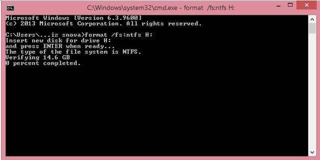 format hard disk windows xp