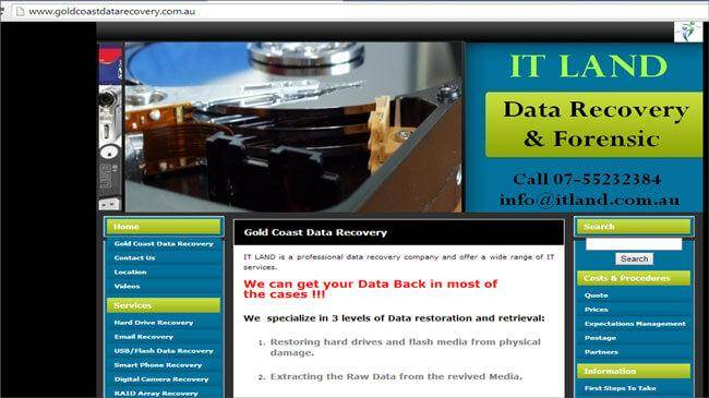 hard disk recovery service