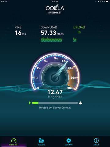 Testa internet hastighet