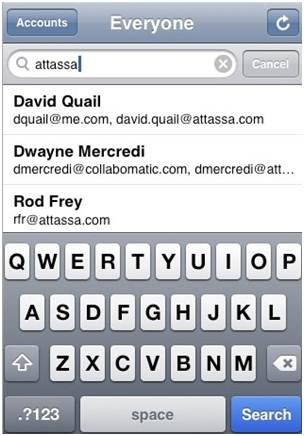 Search Text Messages on iPhone